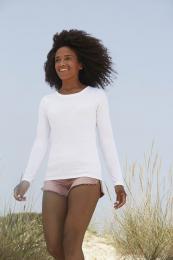 Tričko Lady-Fit s dlouhým rukávem - Výprodej
