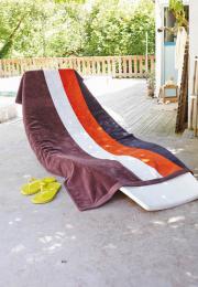 Plážová velurová osuška - Výprodej