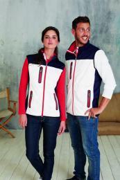 Dámská softshellová vesta Tri-color
