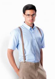 Pánská košile oxford s krátkým rukávem - zvětšit obrázek