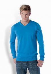Pánský svetr s výstřihem do V - zvětšit obrázek