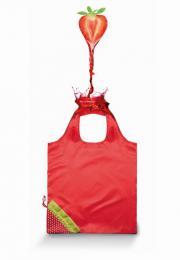 Nákupní taška Jahoda