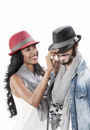 Barevný klobouk - zvětšit obrázek