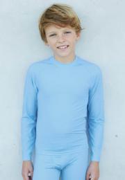 Dětské sportovní rychleschnoucí elastické triko dl.rukáv - zvětšit obrázek
