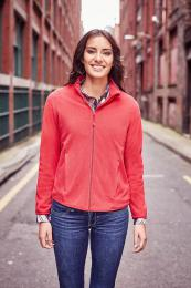 Dámská mikina Ladies' Fitted Full Zip Microfleece